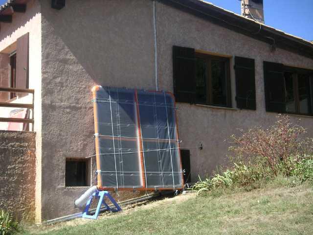 collecteur - Panneau Solaire Thermique Fait Maison